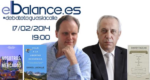 ElBalance.es Debate Taguas Lacalle Diego Sánchez de la Cruz