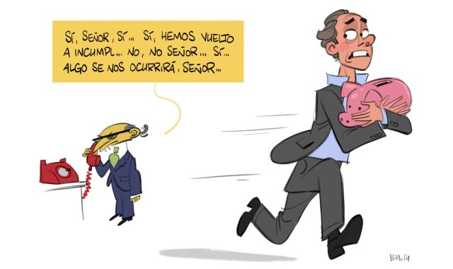 Caricatura Impuestos Montoro