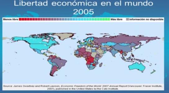 Libertad Económica en el Mundo 2005