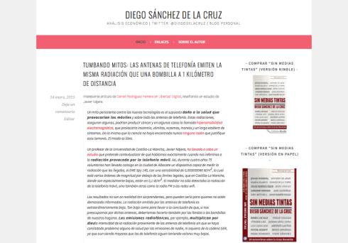 Diegosanchezdelacruz.com nuevo diseño