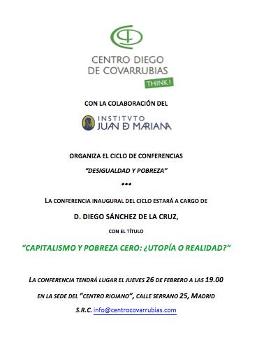 Conferencia Diego Sanchez de la Cruz Pobreza Diego de Covarrubias Juan de Mariana